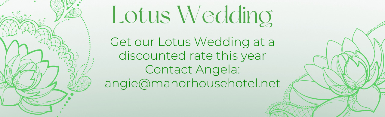 Dream Weddings at The Manor House Hotel